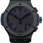 Hublot Big Bang All Black Blue Limited Edition Watch 301.CI.11...