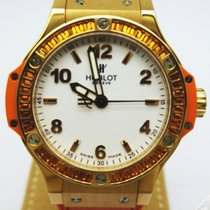 Hublot Big Bang Ladies Quartz Gold Tutti Frutti  Orange -...