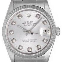롤렉스 (Rolex) Men's Rolex Datejust Watch 16234 Custom Diamonds