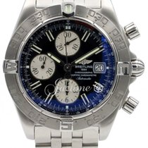 Breitling Galactic Chronograph II A13364 Men's Stainless...