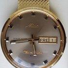 Mido Ocean Star Chromometer H-B Datoday 14K Gold 92g