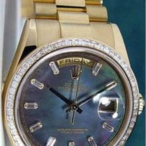 Rolex Mens President New Gold Watch With Diamonds 118348