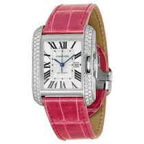Cartier- Tank Anglaise Großes Modell, Ref. WT100018