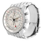 Breitling Navitimer World Silver Dial Steel Automatic Watch...