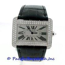 Cartier Divan White Gold Diamond WA301370 Pre-Owned