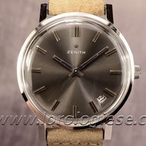 Zenith Classic Xl Vintage Steel Watch In Top Condition Cal. 2542c