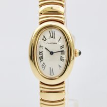 Cartier Baignoire 18k yellow gold ladies Mint 1999 B+P
