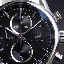 TAG Heuer Carrera Calibre 1887 Chronograph 41mm Steel Watch...