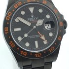 Rolex EXPLORER II 2 DLC BLACK ORANGE  EDITION LAGERND