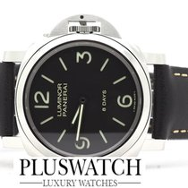 Panerai LUMINOR BASE 8 DAYS ACCIAIO - 44MM PAM00560 PAM560 560...