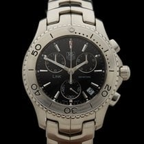 TAG Heuer Link Chronograph Stainless Steel Gents CJ1110