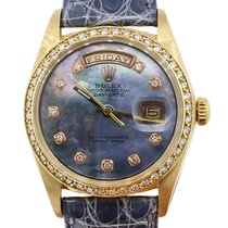 Rolex 1803 Day-Date 18k  Gold Mother Of Pearl Diamond Dial...