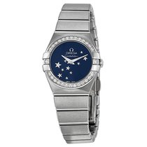 Omega Ladies 12315246003001 Constellation Star Watch