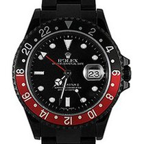 Rolex Used 16710_pvd Oyster Perpetual GMT Master II - Coke...