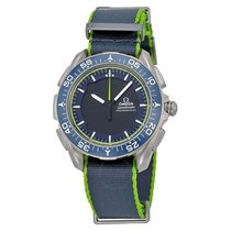 Omega Skywalker X-33 Chronograph Analog Digital Dial Blue and...