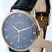 Blancpain Villeret Retrograde Mens Watch 18K White Gold...