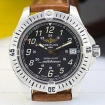 Breitling A64050 ColtOcean Quartz Black Dial SS (23732)