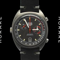 Heuer Monza Black PVD Chronograph Automatic - 1970s