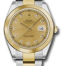 Rolex Watches: 126303 chdo Datejust 41 Steel and Yellow Gold