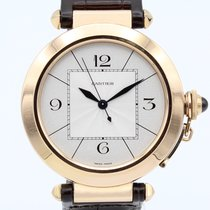 Cartier Pasha 42mm Pink Gold Automatic 2770