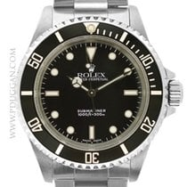 Rolex stainless steel Submariner series