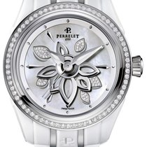Perrelet White Diamond Flower A2040/AP