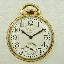 Waltham 1913 WALTHAM VANGUARD 23 Jewels Up/Down Wind Indicator...