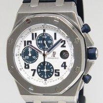 Audemars Piguet Royal Oak Offshore Steel White/Blue Watch...