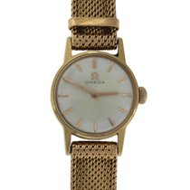 Omega 18k Solid Yellow Gold Watch & Band ORIGINAL 20mm 30.8gr