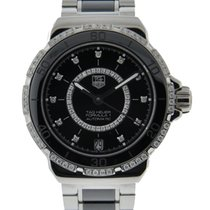 TAG Heuer Formula 1 Ladies Stainless Steel And Ceramic Diamond...