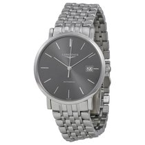 Longines Elegance Automatic Grey Dial Stainless Steel Watch...