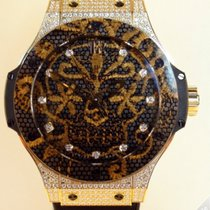 Hublot Big Bang Broderie Carbon Gold Diamonds - 343.VX.6580.NR...