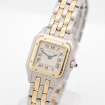 Cartier Panthere Lady in Stahl/Gold Box & Papiere