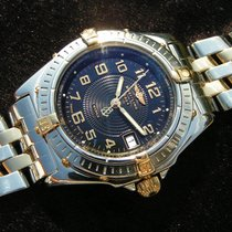 Breitling Wings Lady Black Dial Steel Gold B67050