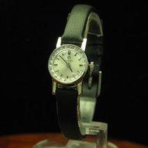 Omega 18kt 750 Weißgold Handaufzug Damenuhr / Kaliber 484