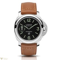Panerai Luminor Marina Logo Acciaio Stainless Steel Men's...
