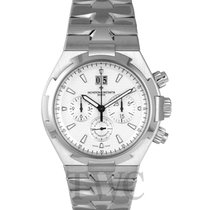Vacheron Constantin Overseas Chronograph White/Steel 42mm -...
