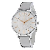 Armani Exchange Olivia Silver Dial Ladies Dress Watch AX5311