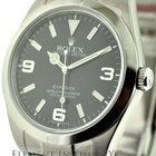 Rolex Explorer I Stainless Steel Black Dial 39mm Reference #:...