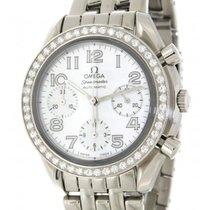 Omega Speedmaster 38357036 In Acciaio E Diamanti, 36mm