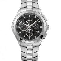Ebel Sport Steel Case, Black Dial, Date, Chronograph