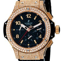Hublot Big Bang 41mm Chronograph Rose Gold Diamond Set...