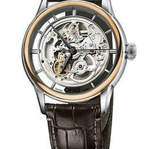 Oris Artelier Translucent Skeleton Mens Watch
