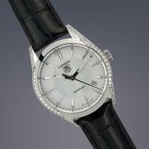 TAG Heuer Ladies Carrera steel & diamond automatic watch...