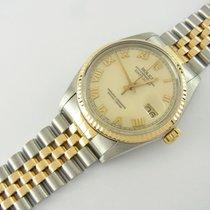 Rolex Datejust 36 Mm Ref 16013 Stahl/gold Two-tone Jubileeband...