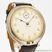 Movado Pocket Watch Conversion To Wrist Watch circa 1930's