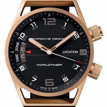 Porsche Design Worldtimer 18k Gold P6750 6750.69.44.1180 Swiss