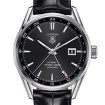TAG Heuer Carrera Calibre 7 Twin Time Automatic Watch 100 M