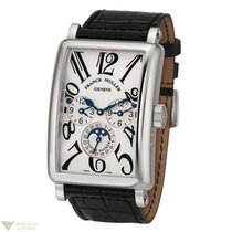 Franck Muller Conquistador Cortez 18K White Gold Men's Watch
