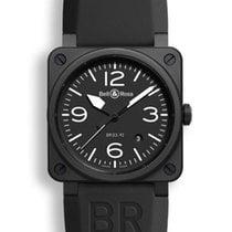 Bell & Ross Aviation Men's Watch BR0392-BL-CE